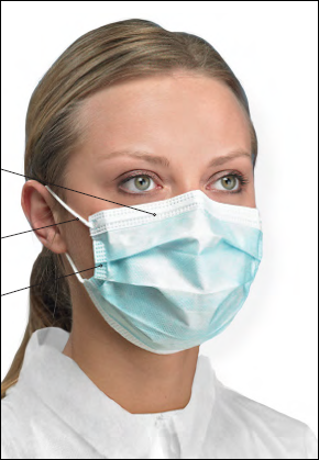 primed surgical mask