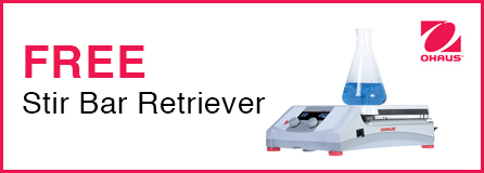 FREE Stir Bar Retriever with the Purchase any Model of the Guardian Hotplate Stirrers Series
