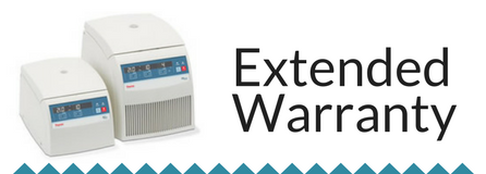 Extended Warranty: Heraeus Pico and Fresco Microcentrifuge